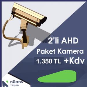 2'li Paket Kamera Özellikleri İçin Tıklayınız