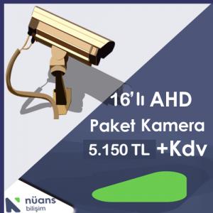 16'lı Paket Kamera Özellikleri İçin Tıklayınız
