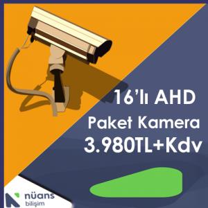 16'lı ahd paket kamera kartal istanbul